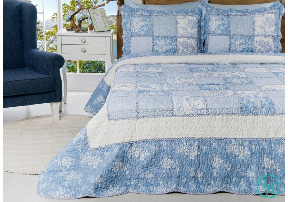 Покрывало Carly Blue 180*250